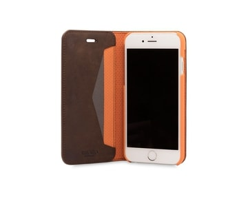 Knomo Folio with moulded case for iPhone 7